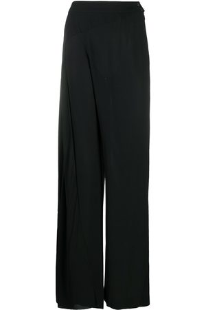 CHANEL 1999 high-waisted palazzo trousers