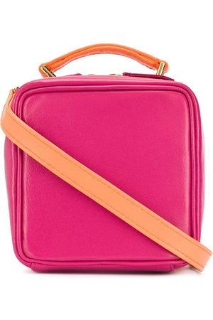 Natasha Zinko Colour-block shoulder box bag