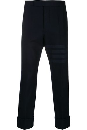 Thom Browne 4-Bar cropped tailored trousers