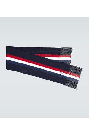Moncler Wool ribbed scarf