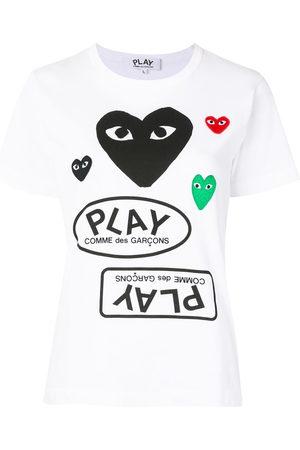 Comme des Garçons Women Short Sleeve - Logo print short sleeve t-shirt