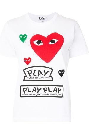 Comme des Garçons Logo print short sleeve t-shirt
