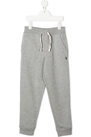 Ralph Lauren Logo embroidered track trousers