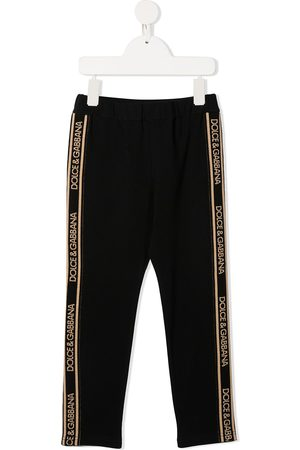 Dolce & Gabbana Logo side panelled track pants