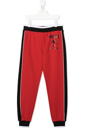 Moschino Boys Sports Trousers - Panelled sweatpants