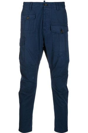 Dsquared2 Navy cargo pants