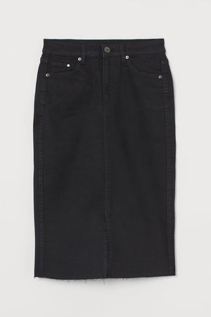 H&M Women Pencil Skirts - Denim pencil skirt
