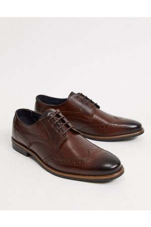Base London Risco brogues in leather