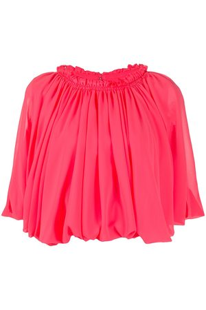 Comme des Garçons Short-sleeved pleated top