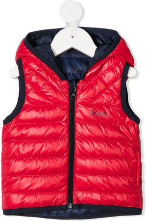 HUGO BOSS Body Warmers - Reversible quilted gilet