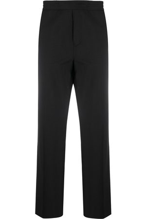 Acne Studios Men Trousers - Elasticated waistband straight-leg trousers