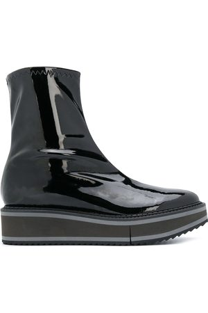 Robert Clergerie Berra patent leather ankle boots