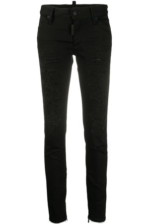 Dsquared2 High-waist skinny jeans