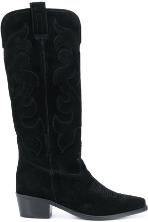 Twin-Set Calf-length cowboy boots