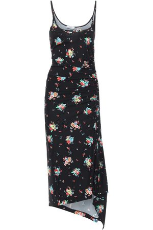 Paco rabanne Women Printed Dresses - Printed Sleeveless Viscose Long Dress