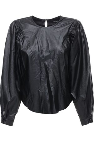 Isabel Marant Dobson Faux Leather Top