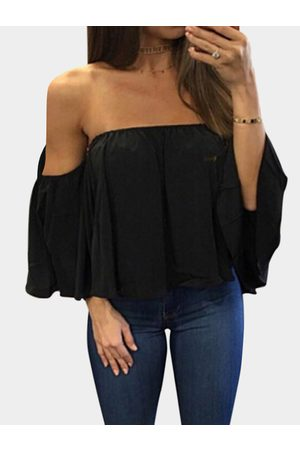 YOINS Sexy Off Shoulder Loose Fit Blouse