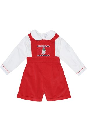 Rachel Riley Baby cotton playsuit