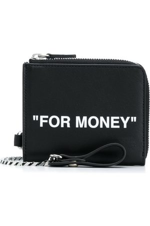 OFF-WHITE Men Wallets - Quote card holder