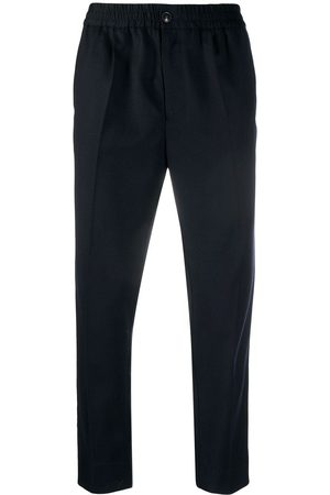 Ami Cropped virgin wool trousers
