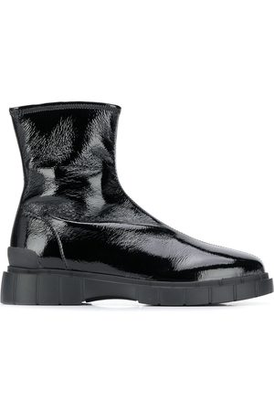CAR SHOE Track sole ankle boots
