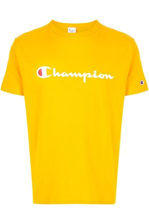 Champion Logo print crew neck T-shirt