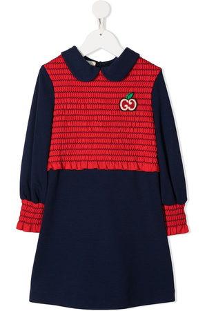 Gucci Shirred-detail dress