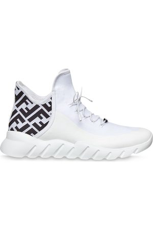 Fendi Men Sneakers - FF pattern sneakers