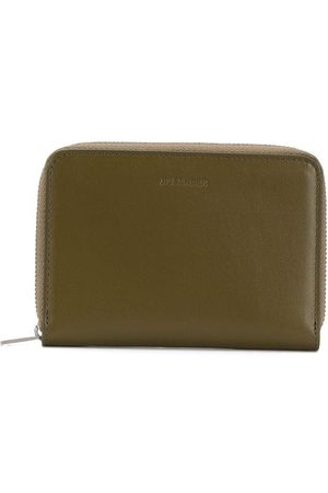 Jil Sander Debossed-logo zip-around wallet