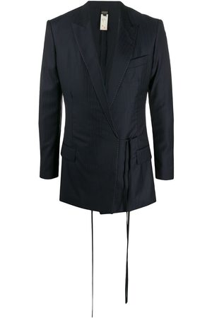 Gianfranco Ferré 2000s pre-owned pinstriped blazer