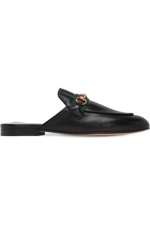Gucci 10mm Princetown Leather Mules