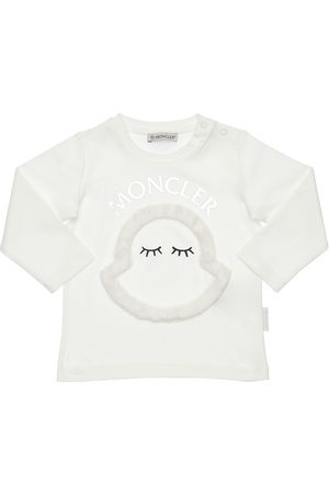 Moncler Cotton Interlock T-shirt W/ Patch