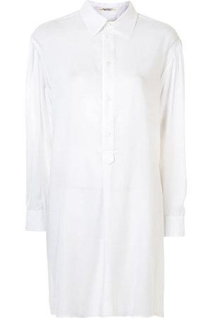 YOHJI YAMAMOTO Women Shirts - Oversize tunic blouse