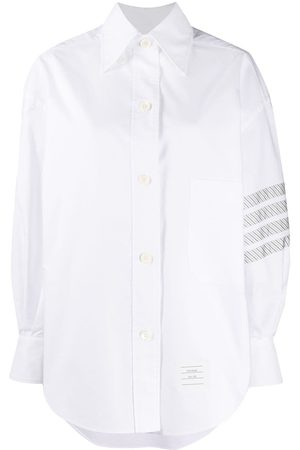 Thom Browne 4-Bar oversized shirt