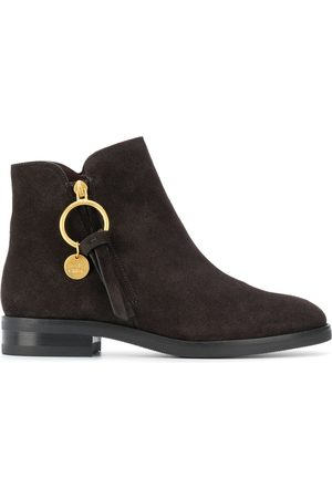 See by Chloé Ring-pull ankle boots