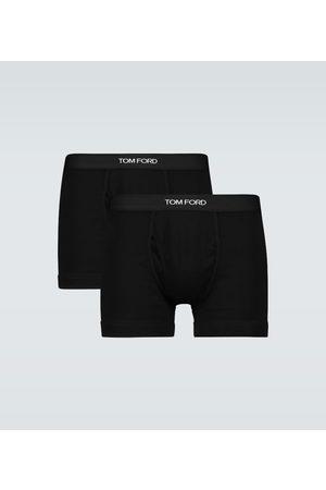 Tom Ford Stretch-cotton boxer briefs