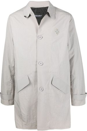 A-cold-wall* Men Trench Coats - Singe-breasted trench coat
