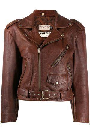 A.N.G.E.L.O. Vintage Cult Women Leather Jackets - 1980s leather biker jacket