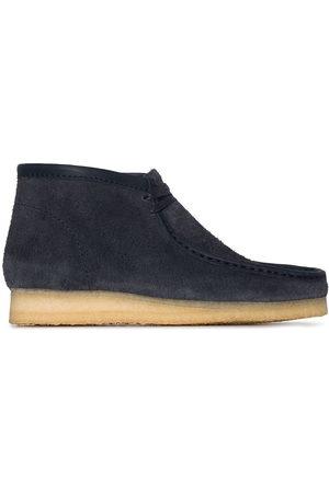 Clarks Suede Wallbee boots