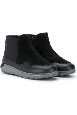 Hogan Girls Ankle Boots - Chunky sole ankle boots