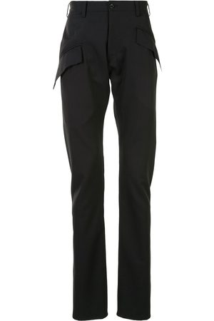 Sulvam Skinny-fit wool trousers