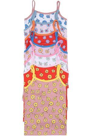 Stella McCartney Set of 7 printed cotton vests