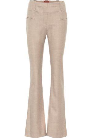 Altuzarra Serge flared stretch-wool pants