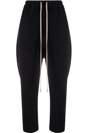 Rick Owens Drawstring Cropped Astaires trousers