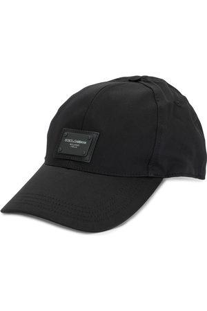 Dolce & Gabbana Men Hats - Logo-patch cotton cap