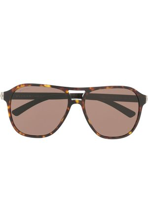 Bvlgari Tinted aviator sunglasses