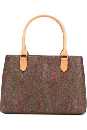 Etro Women Handbags - Paisley print tote