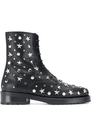 RED Valentino RED(V) star studded ankle boots