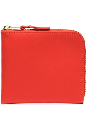 Comme des Garçons Half-zip leather wallet