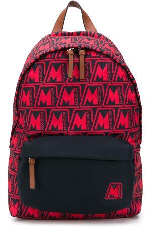 Moncler Men Rucksacks - Pierrick all-over logo backpack